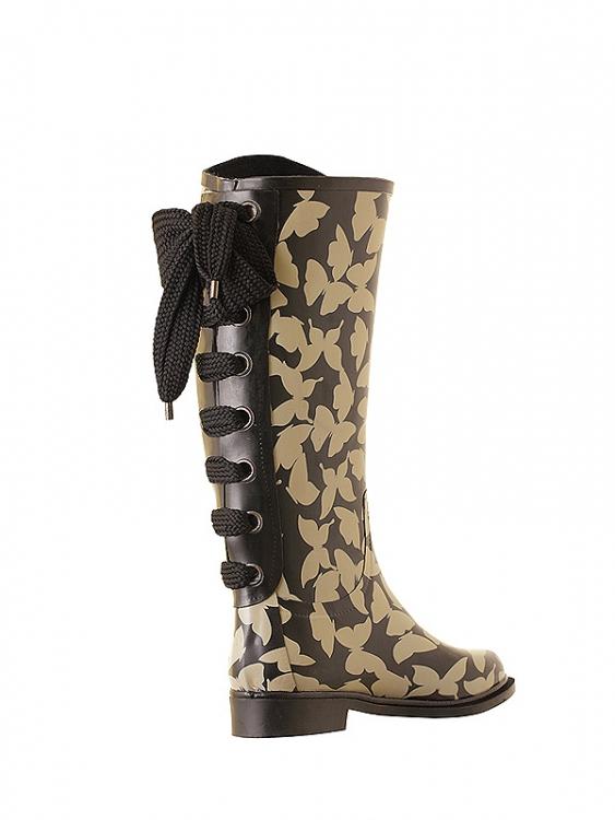 сапоги дождь мода резиновые сапоги